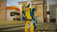 Marvel Heroes - Wolverine Modern UV para GTA San Andreas