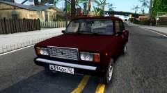 2107 Burgundy para GTA San Andreas