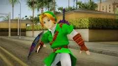 Hyrule Warriors - LINK (Ocarina Oftime) para GTA San Andreas