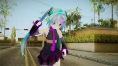 Miku Sweet Devil Outfit para GTA San Andreas