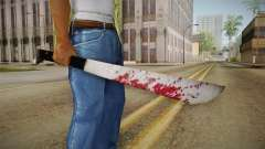 Friday The 13th - Jason Voorhees Machete para GTA San Andreas