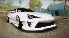 Toyota Supra 8PraLift Hachi NieR Automata 2B para GTA San Andreas