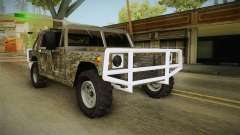 New Patriot Hummer para GTA San Andreas