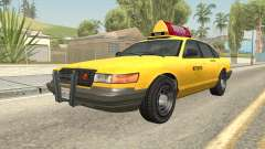 GTA 4 Taxi Car para GTA San Andreas