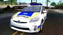 Toyota Prius Ukraine Police para GTA San Andreas