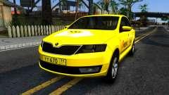 "Skoda Rapid ""Yandex Taxi"" para GTA San Andreas"