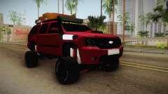 Chevrolet Tahoe Semi Offroad VZLA Edition para GTA San Andreas