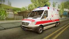 Mercedes-Benz Sprinter Turkish Ambulance para GTA San Andreas