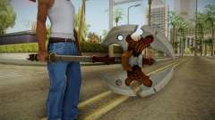 Injustice: Gods Among Us - Ares Axe para GTA San Andreas
