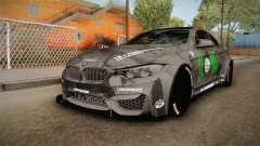 BMW M4 LB Walk Team-DiCE para GTA San Andreas