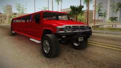 GTA 5 Mammoth Patriot Limo para GTA San Andreas