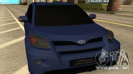 Toyota Urban Cruiser para GTA San Andreas