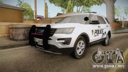 Ford Explorer 2012 Angel Pine PD para GTA San Andreas