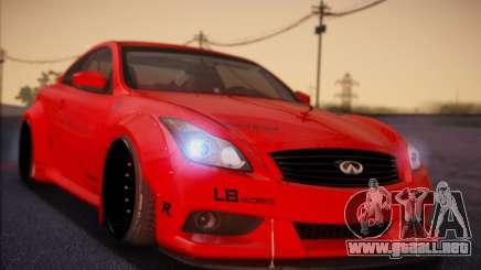 Infiniti G37 Coupe para GTA San Andreas