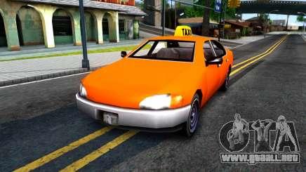 Kuruma GTA 3 Taxi para GTA San Andreas