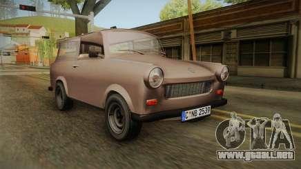 Trabant 601 Kombi para GTA San Andreas