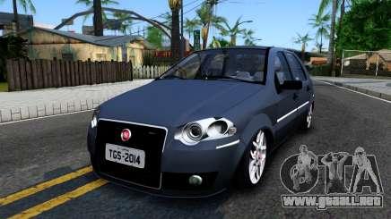 Fiat Siena de color turquesa para GTA San Andreas