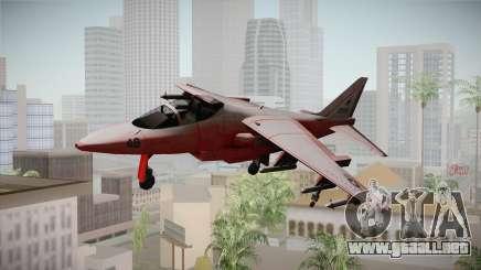 Red Hydra para GTA San Andreas