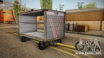 GTA 4 Airport Trailer 1 para GTA San Andreas