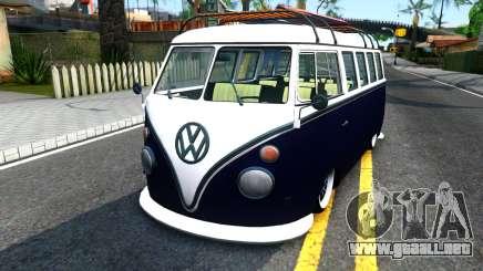 Volkswagen Transporter T1 Stance V2 para GTA San Andreas