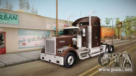 Kenworth W900 ATS 6x2 Middit Cab Normal para GTA San Andreas