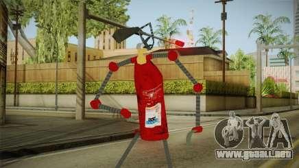 Un extintor de incendios para GTA San Andreas
