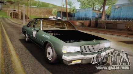 Chevrolet Caprice Taxi 1989 para GTA San Andreas
