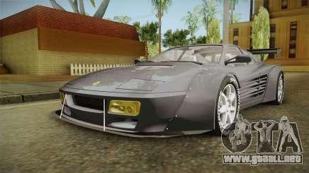 Ferrari 512 TR Widebody para GTA San Andreas