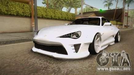 Toyota Supra 8Pralift para GTA San Andreas