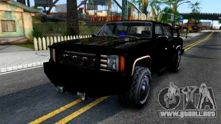 Tuned FBI Rancher para GTA San Andreas