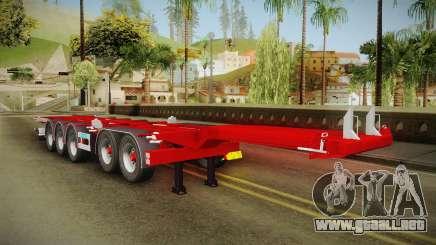 Trailer Container v2 para GTA San Andreas