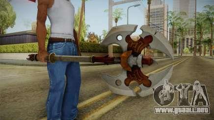 Injustice: Gods Among Us - Ares Axe para GTA San Andreas