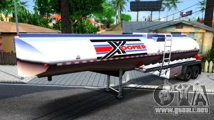 Realistic Tanker Trailer para GTA San Andreas