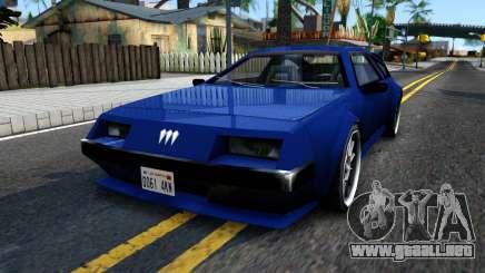 Deluxo SA Restyle para GTA San Andreas