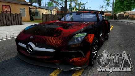 Mercedes-Benz SLS AMG Space para GTA San Andreas