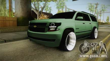Chevrolet Tahoe GT Stance Bass Booster para GTA San Andreas