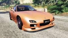 Mazda RX-7 Spirit R Type A (FD3S) 2002 [add-on] para GTA 5