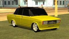 VAZ 2105 Golden Brodyaga Tuned para GTA San Andreas