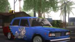 VAZ 2105 de Combate Clásicos para GTA San Andreas