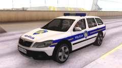 Skoda Octavia Scout Croatian Police Car para GTA San Andreas