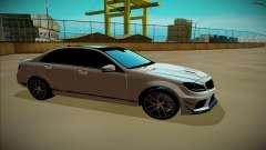 Mercedes-Benz C63 para GTA San Andreas