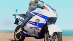Croatian Police Bike para GTA San Andreas