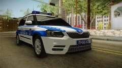 Skoda Yeti Serbio De La Policía De Fronteras para GTA San Andreas