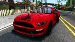 Ford Mustang Shelby GT350R 2016 Kirito Itasha para GTA San Andreas