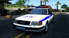 Audi 100 C4 Russian Police para GTA San Andreas