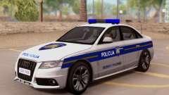 Audi S4 Croatian Police Car para GTA San Andreas
