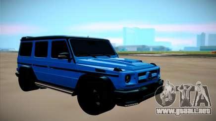 Mercedes-Benz G Brabus para GTA San Andreas