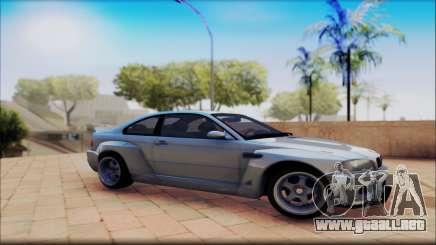 BMW M3 Е46 CSL para GTA San Andreas