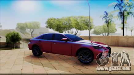 Lexus IS F 2017 para GTA San Andreas