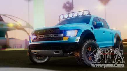 Ford F-150 Raptor LP Cars Tuning para GTA San Andreas